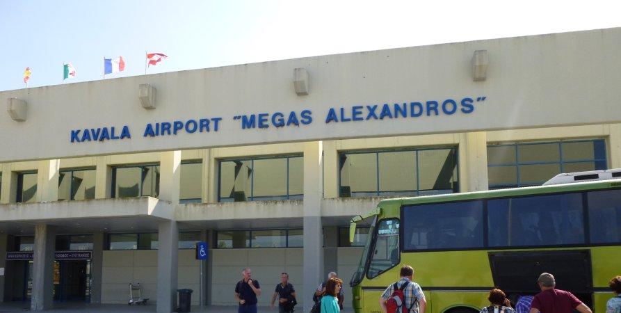 Αποτέλεσμα εικόνας για Τα αεροδρόμια Καβάλας