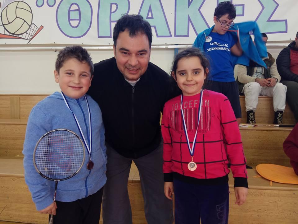 Επιτυχίες για το τμήμα Badminton του ΑΣ Δημοκρίτειο στους περιφερειακούς  αγώνες Θράκης 0616de8a6fa